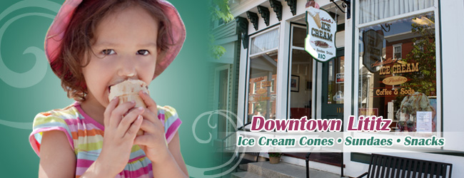 Isabellas Ice Cream Parlor Lititz PA